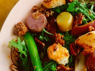 Warm Potato & Chorizo Salad 3.11 I Solemnly Swear