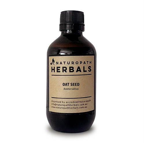OAT SEED - Tincture Liquid Extract