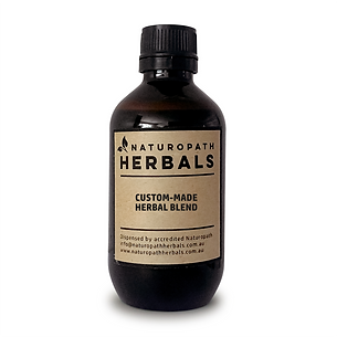 CREATE YOUR OWN HERBAL BLEND - Tincture Liquid Extract