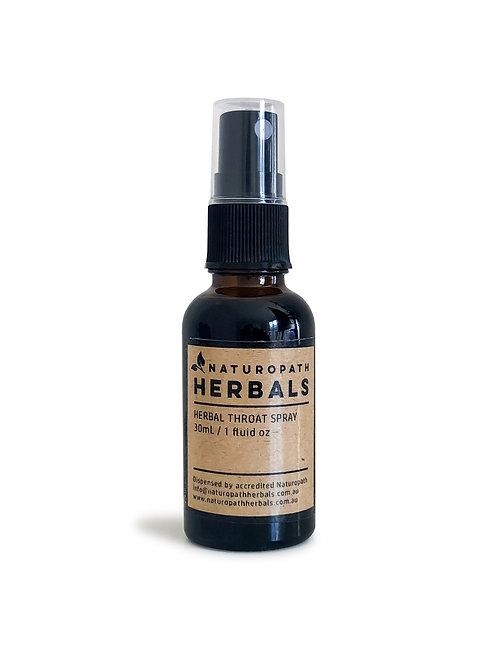 herbal throat spray