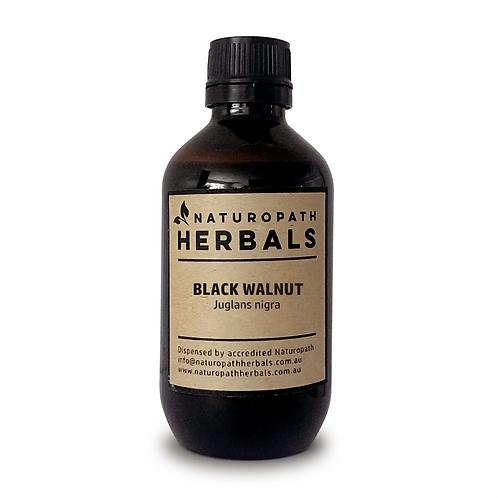 black walnut hulls tincture extract liquid
