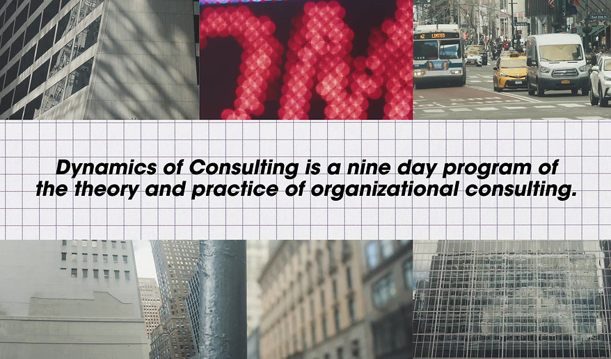 Dynamics of Consulting 2020