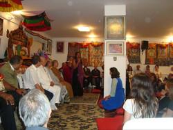 Visita do  Lama  Guthsen ao  Brasil