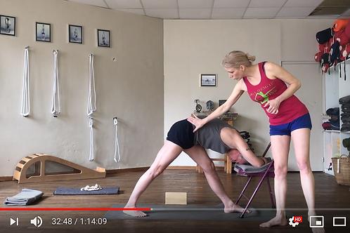 Yoga Iyengar - Vidéo #P1 - avec Piccarda