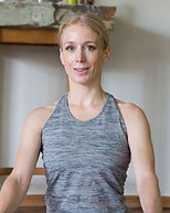piccarda di montereale professeur de yoga