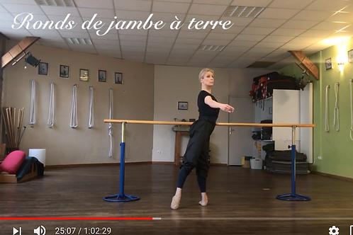Danse Classique Méthode Vaganova - Vidéo #D5