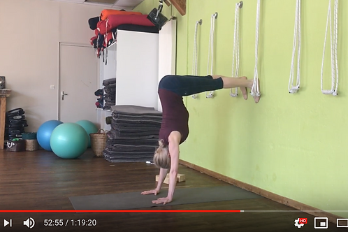 Yoga Iyengar - Vidéo #Y5 - avec Piccarda