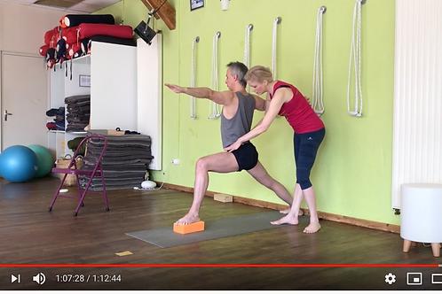 Yoga Iyengar - Vidéo #Y6 - avec Piccarda