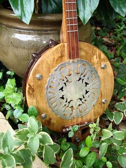 Antique trivet soundhole cover