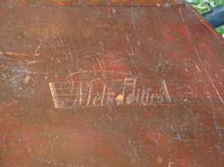 Laser Engraved Meloddities Logo