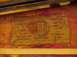 Original GSB Label