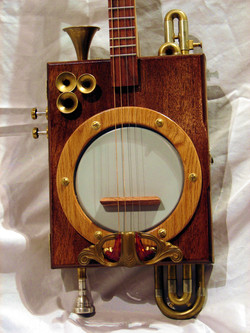 Banjo head/resonator