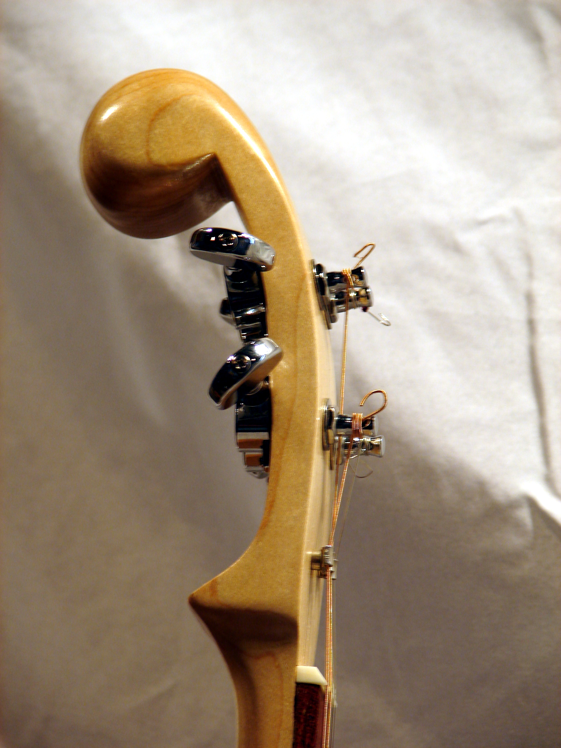 Headstock (side view)