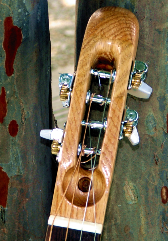 Oak neck/headstock