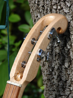 Hand-Carved Maple Neck & Headstock
