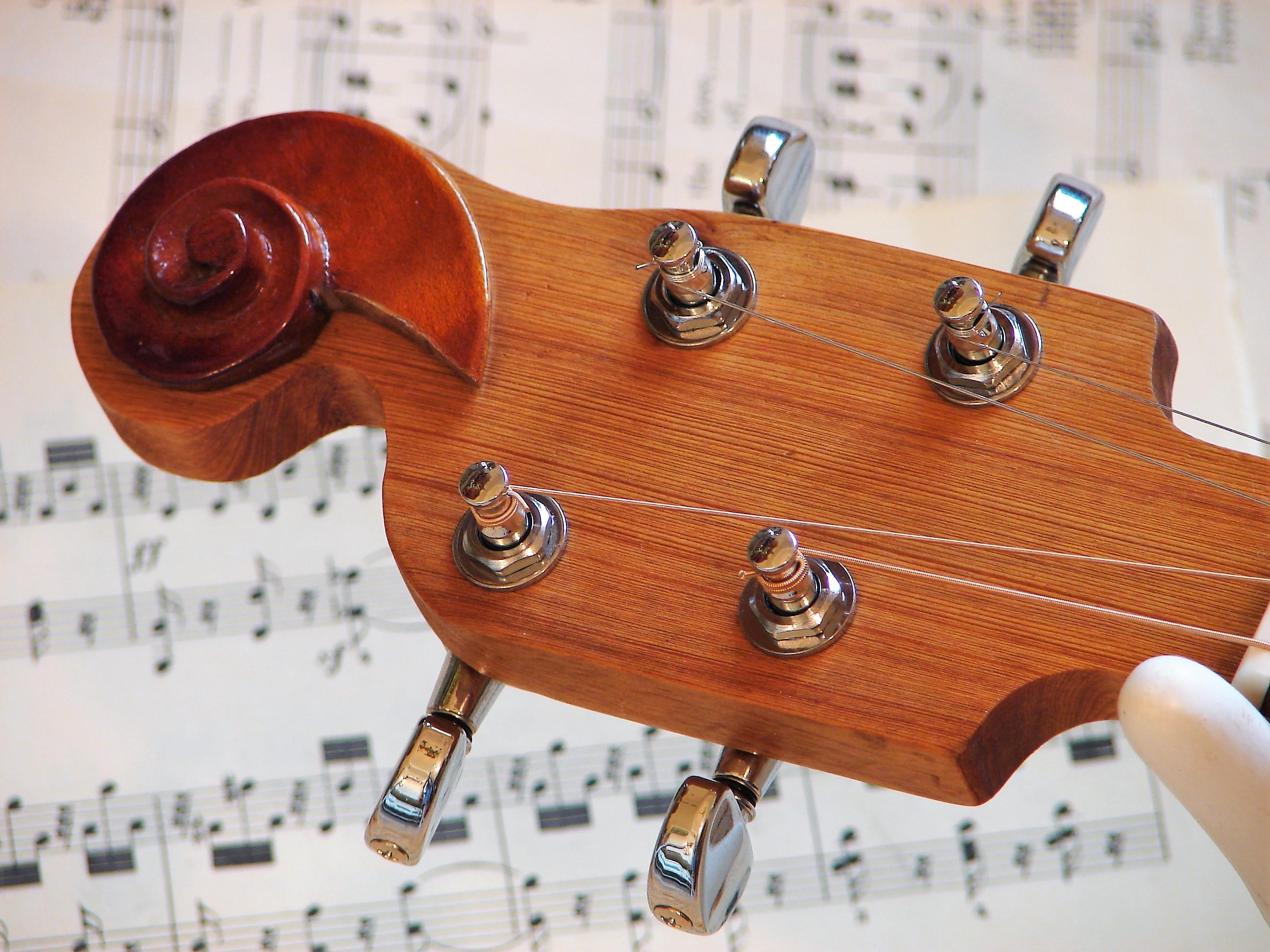 Violin Scroll Ornament