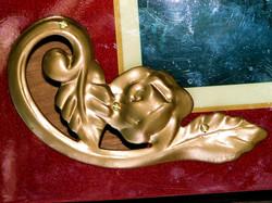 Gold Floret Sound Hole Covers