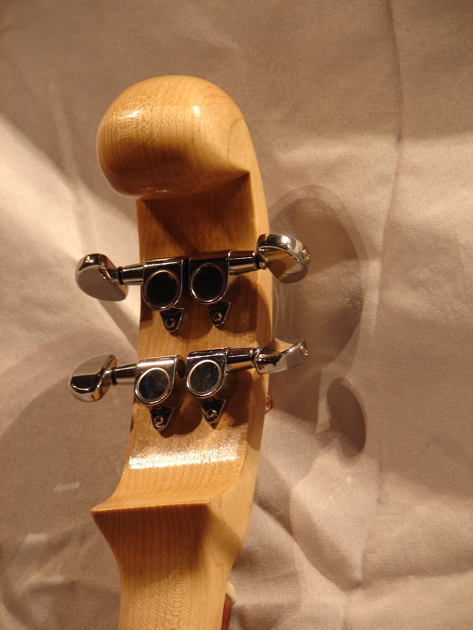 Headstock (rear view)