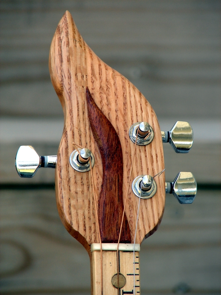 """Gas Flame"" Headstock"