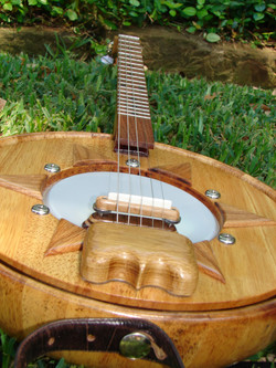 Hand-Carved Tailpiece