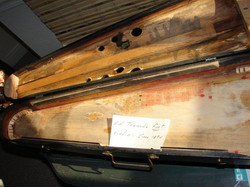 Inside 120+ Year Old Violin Case