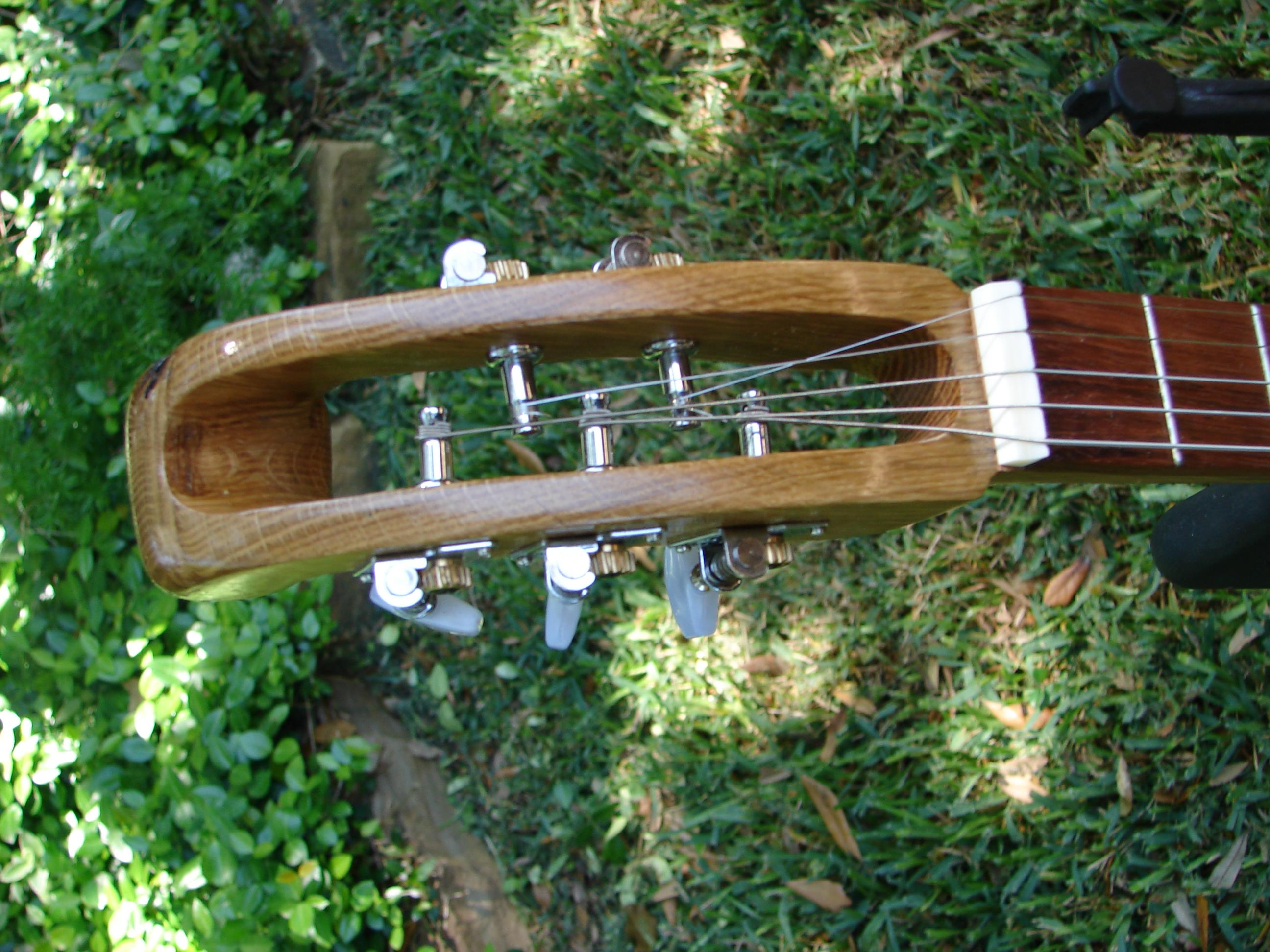 Hand-Carve Oak Neck & Headstock