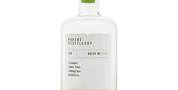 Radius Distillery GIN Batch No. 22
