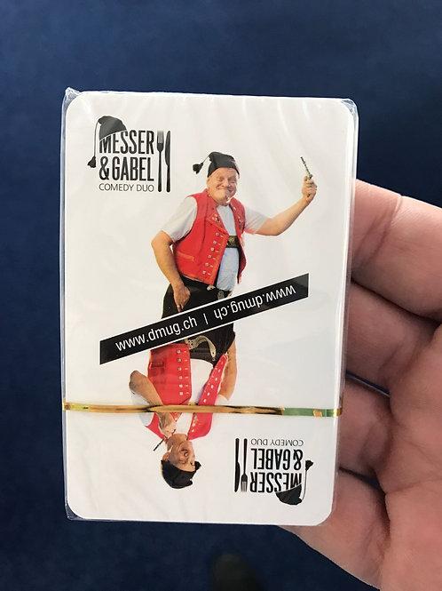 Schweizer Jasskarten Messer&Gabel