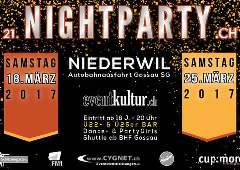Plakat Nightparty 2017