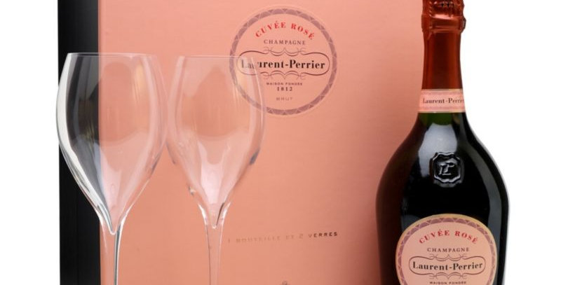 Laurent Perrier Cuvée Rosé Set