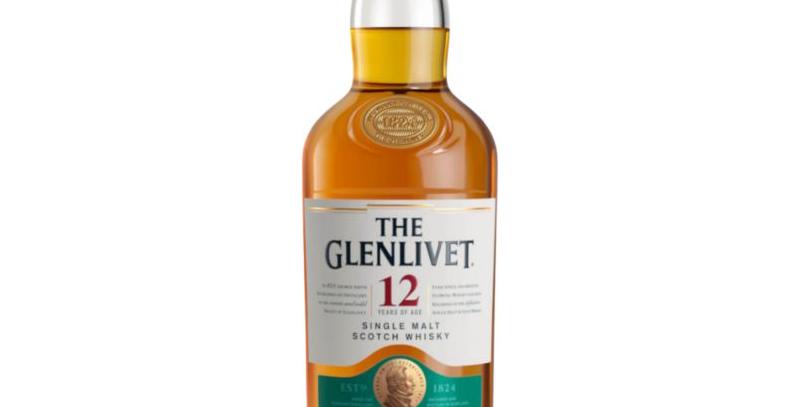The Glenlivet 12 Years Single Malt Scotch Whisky