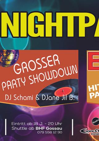 Plakat 23. Nightparty 2019