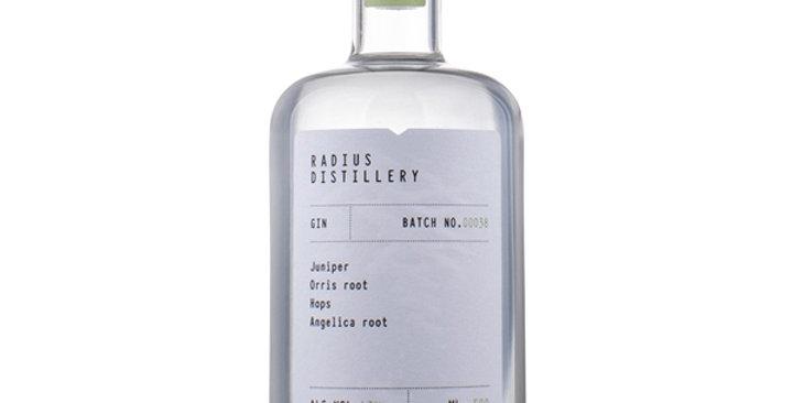 Radius Distillery GIN Batch No. 38