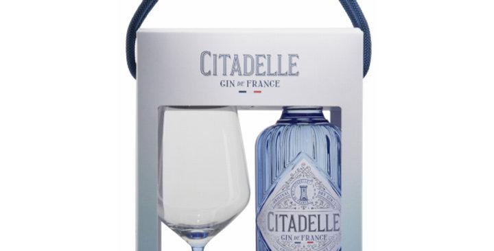 Citadelle Gin de France in Geschenkspackung mit 1 Glas