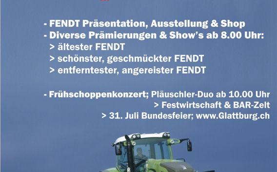 1. Internationales FENDT-Treffen 2007