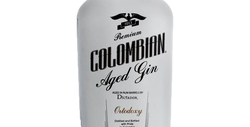 Gin White Dictador Orthodoxy Colombian