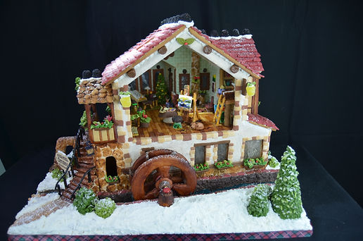 Old Mill Studio Gingerbread House