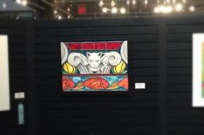 Artwork in Spring Exhibit