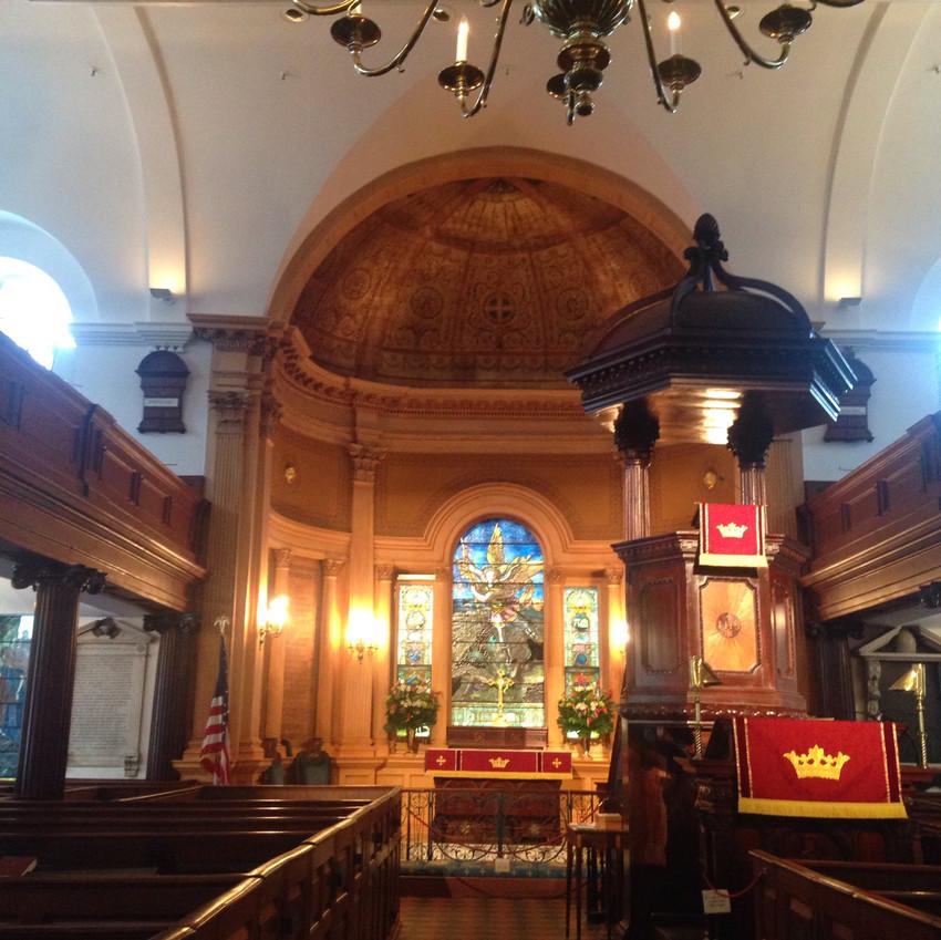 St. Michael's Episcopal interior