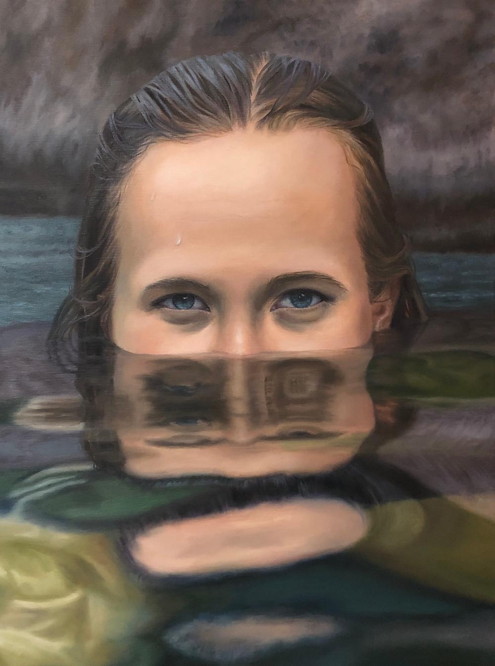 Oil painting by J. Susan Aitken