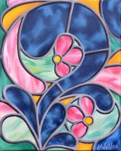 Swirling Petals
