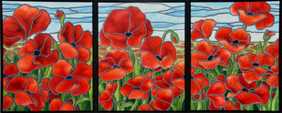 Field of Remembrance Triptych