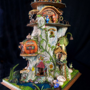 Pixie Point Gingerbread House