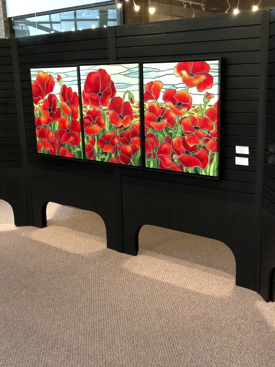 """Field of Remembrance"" on display"