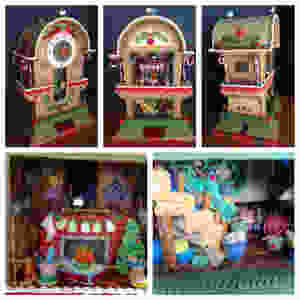 JS Aitken's Clock gingerbread house 2016