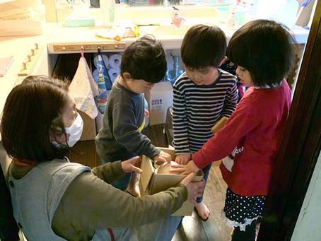 ダチョウの卵🥚と櫻島大根の大きさにびっくり‼️