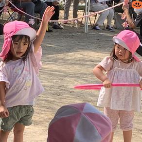 2歳児さんは運動会に参加しました