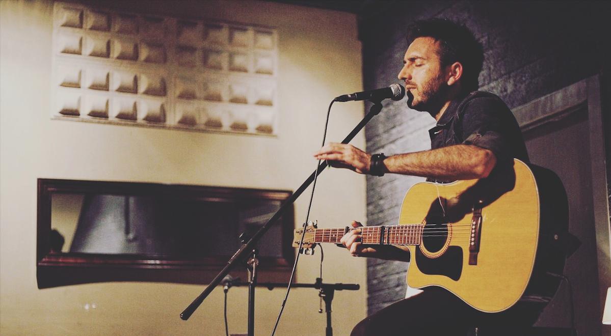 Foto de un concierto de Jose Ruiz