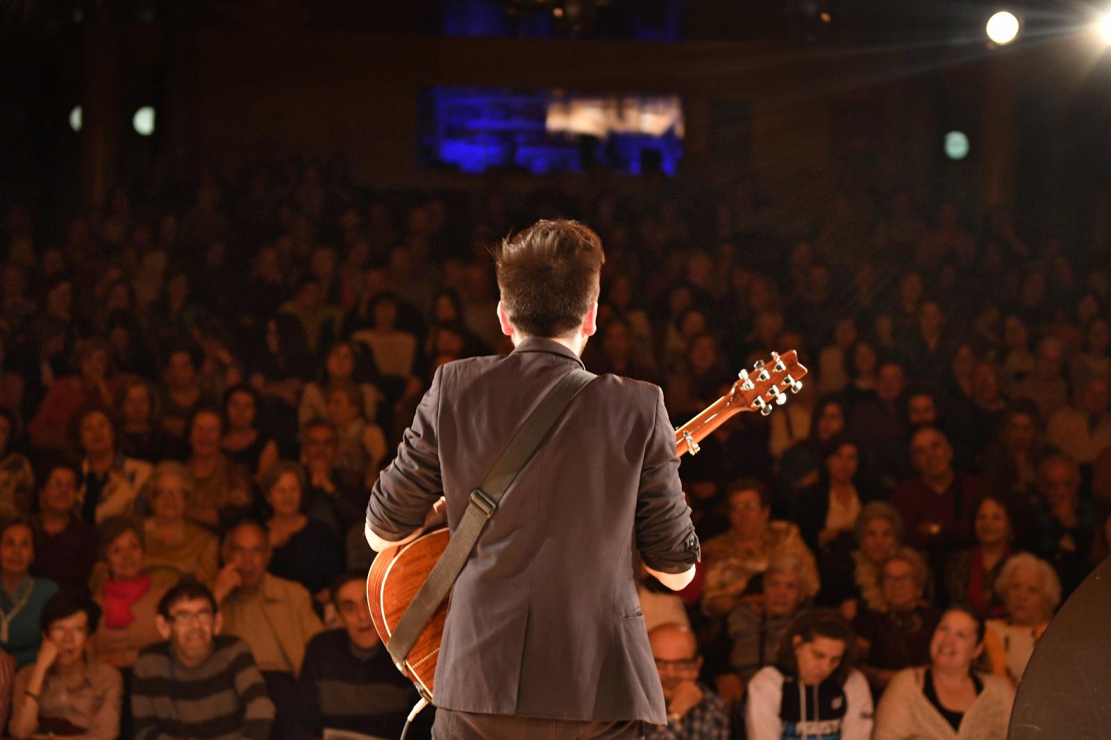 Jose Ruiz en concierto
