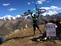 Elladee on Tibet trip in 2017